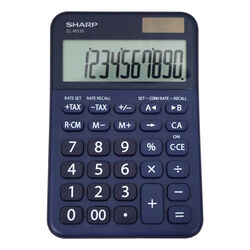 Sharp  10 digit Calculator  Blue