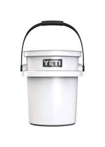 YETI  LoadOut  5 gal. Bucket  White