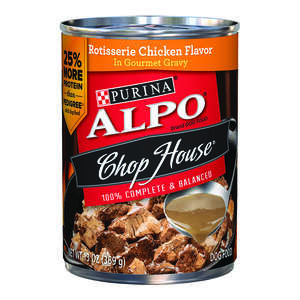Purina  Alpo Prime Classics  Chicken  Pate  Dog  Food  13.2