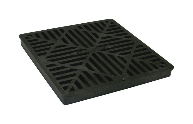 NDS  N/A  Black  Polyolefin  Square  Square Grate
