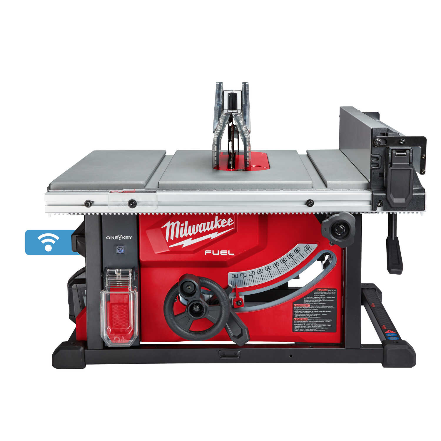 Milwaukee  M18 FUEL  8-1/4 in. Cordless  Table Saw  with One-Key  15 amps 18 volt 5800 rpm Red