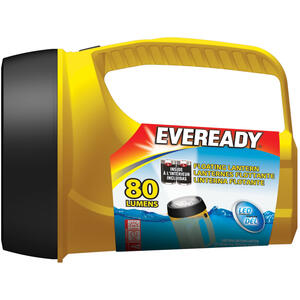 Eveready  ReadyFlex  80 lumens Yellow  Floating Lantern