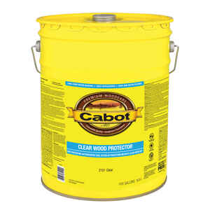 Cabot  Clear  Acrylic  5 gal. Wood Protector