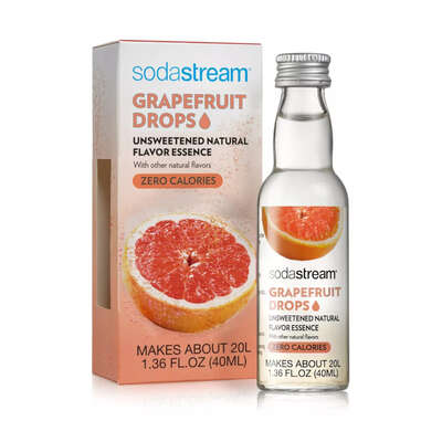 SodaStream  Pink Grapefruit  Fruit Drops  1.36 oz. 1 pk
