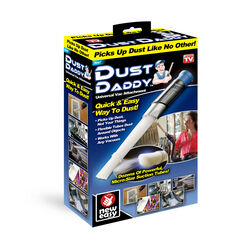 Dust Daddy As Seen On TV Vacuum Attachment For Vacuum attachment that removes dirt and dust from