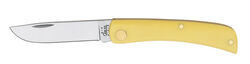 Case  Sod Buster Jr.  Yellow  Chrome Vanadium  3.63 in. Pocket Knife