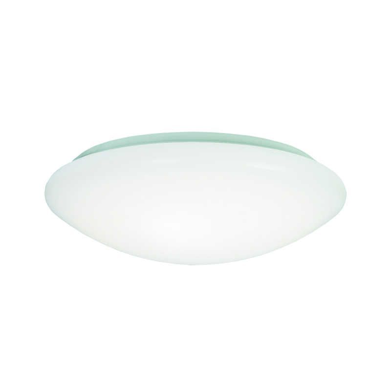 Metalux  4 in. H x 9 in. W x 11.1 in. L White  Ceiling Light