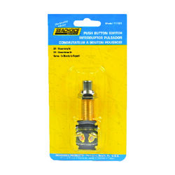 Seachoice Push Button Starter/Horn Switch Brass
