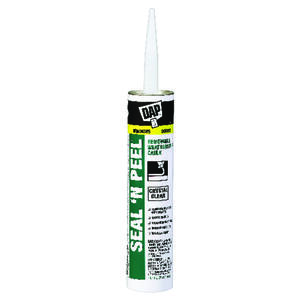 Dap  Seal 'N Peel  Clear  Polymer  Door, Siding and Window  Sealant  10.1 oz.