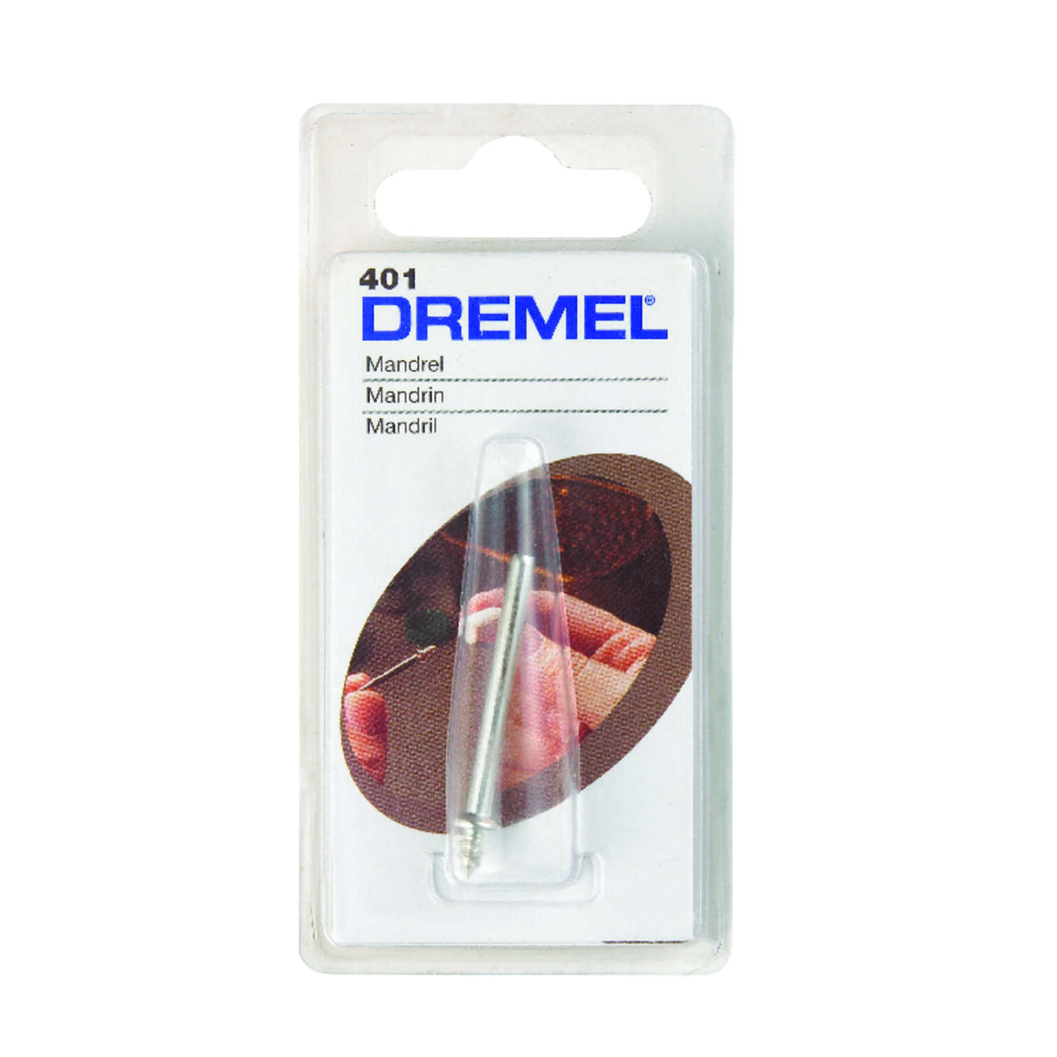 Dremel  1/2 in   x 3 in. L x 1/8 in. Dia. High Speed Steel  Mandrel  1 pk