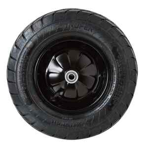 Ace  9 in. Dia. x 16 in. Dia. Centered  Wheelbarrow Tire  Rubber  1 pk