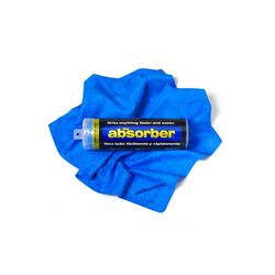 The Absorber 27 in. L x 17 in. W Synthetic Chamois 1 pk
