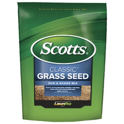 Scotts  Classic  Mixed  Sun/Shade  Grass Seed  20 lb.