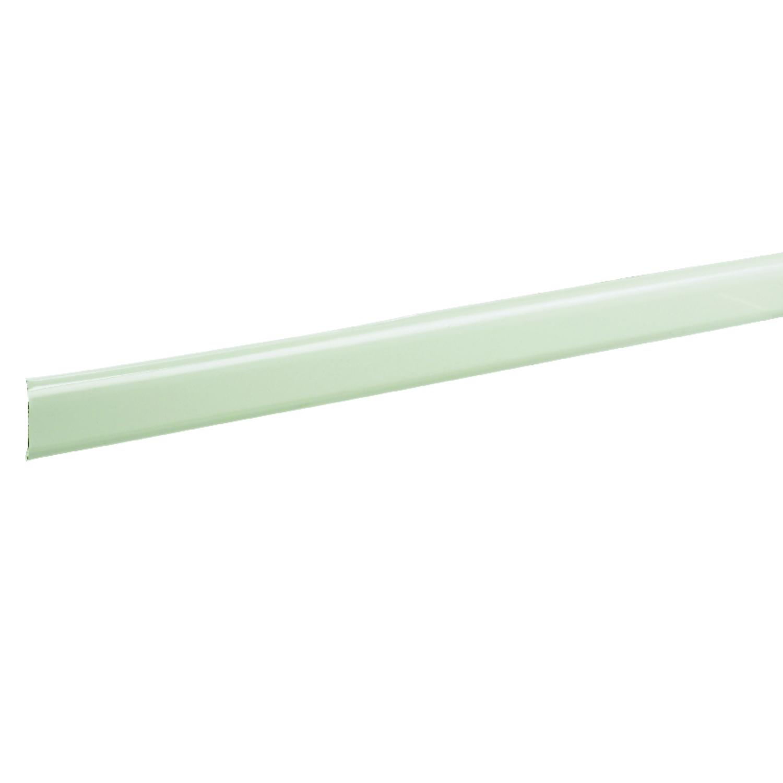 Kenney Enamel White Curtain Rod Extender 25 In