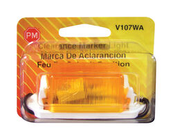 Peterson  Amber  Rectangular  Clearance/Side Marker  Light