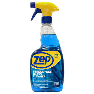 Zep  Commercial  No Scent Glass Cleaner  32 oz. Liquid