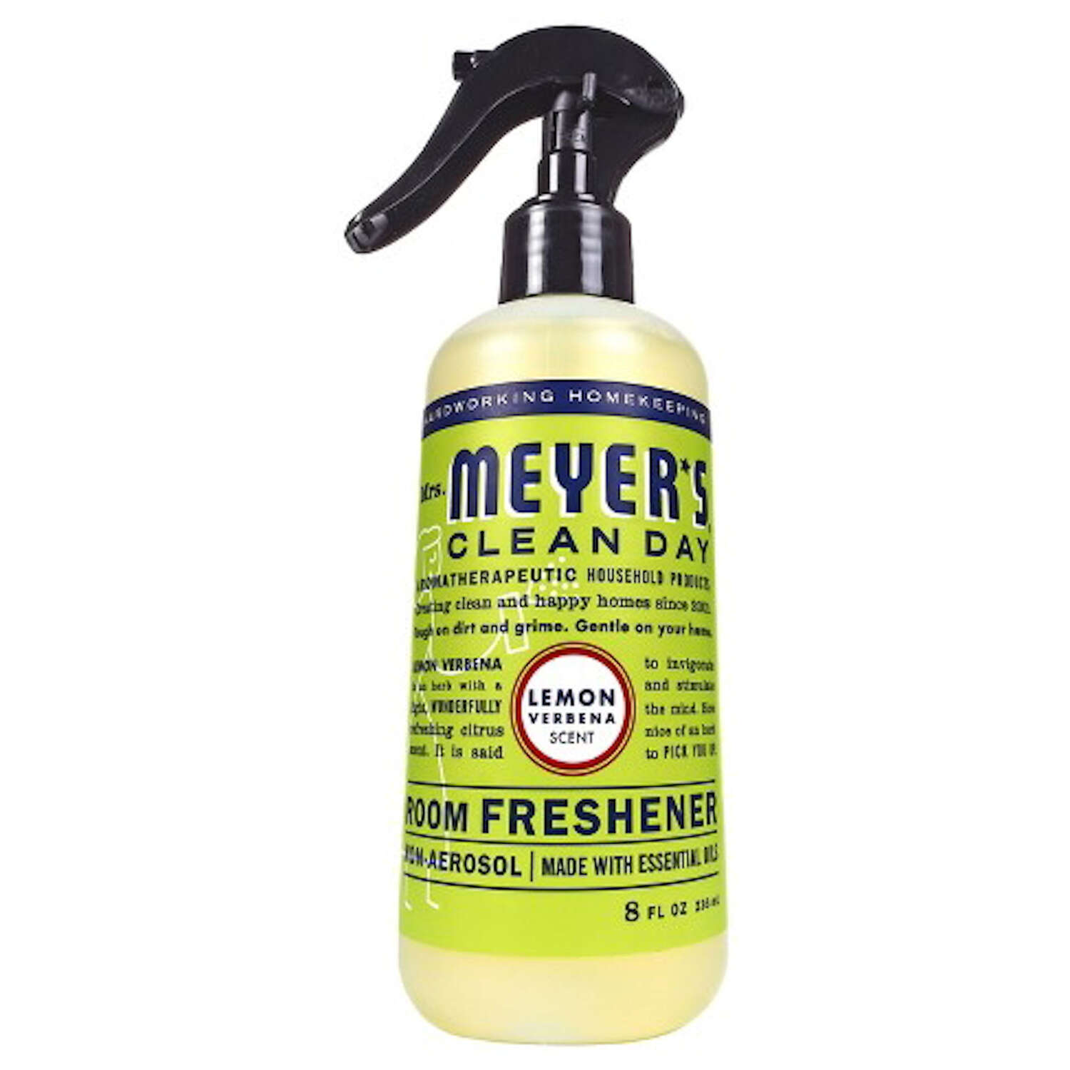 Mrs. Meyer's  Clean Day  Lemon Scent Air Freshener Spray  8 oz. Liquid
