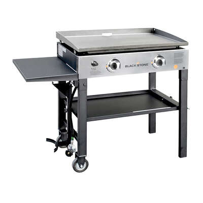 Blackstone 2 burner Liquid Propane Outdoor Griddle Black 488 sq.in.