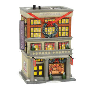Department 56  Christmas Vacation  Belmont & Co. Department Store  Village Building  Multicolored  P
