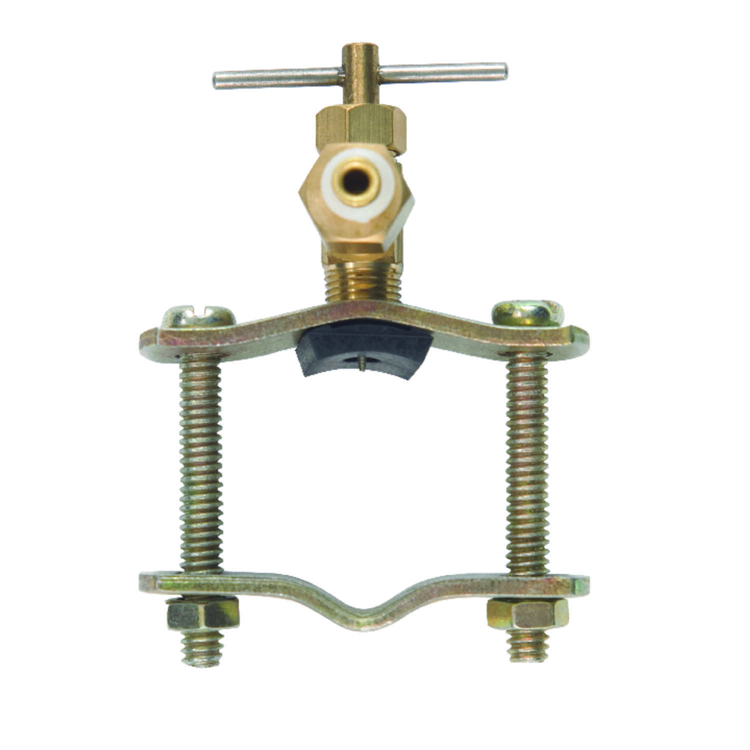 JMF  1/4 in. Dia. x 3/8 in. Dia. Brass  Compression  Needle Valve