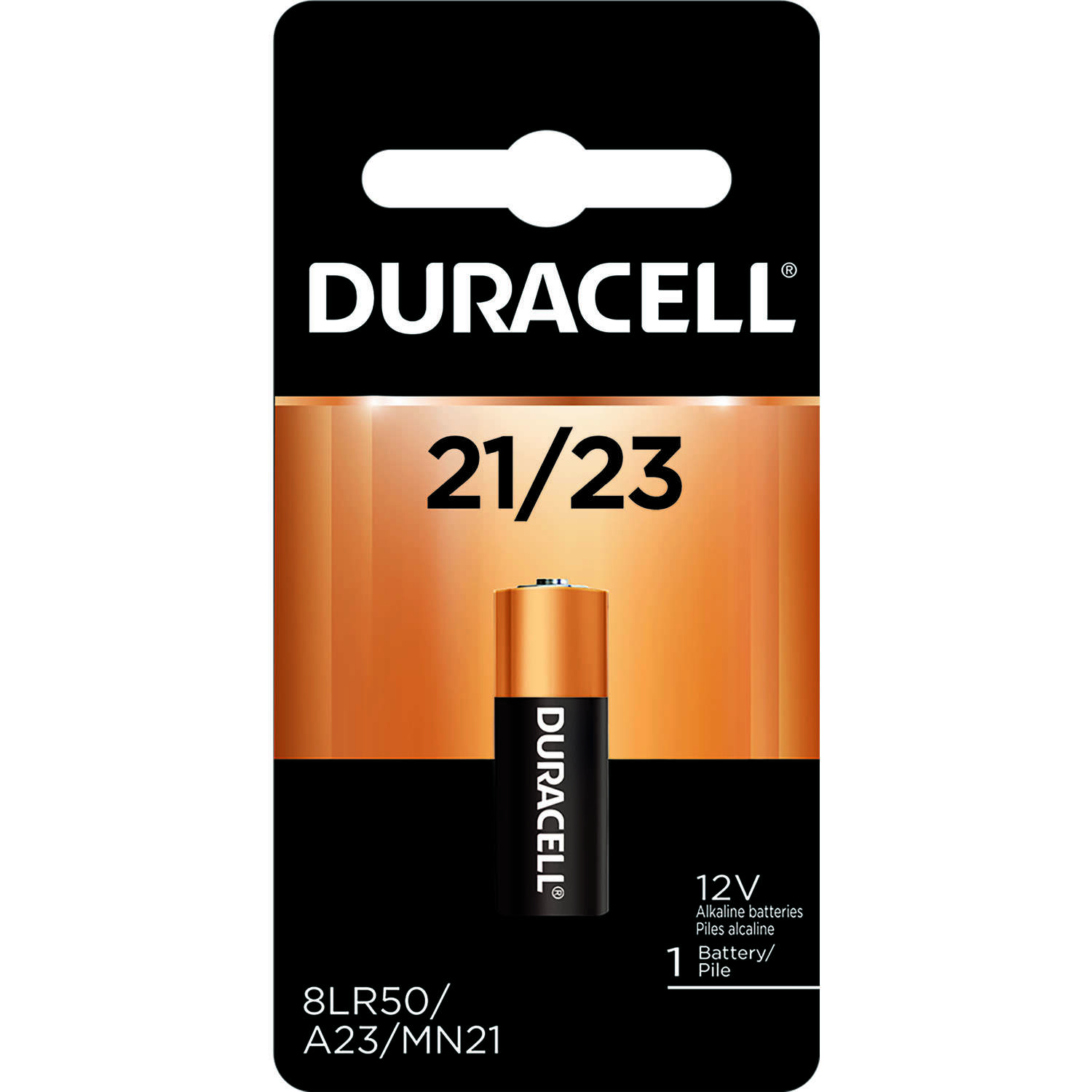 Duracell  Alkaline  12-Volt  12 volt Security Battery  21/23  1 pk