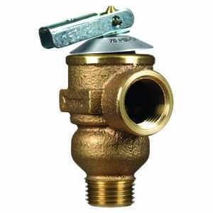 Cash Acme  1/2 in. Pressure Only Relief  Valve