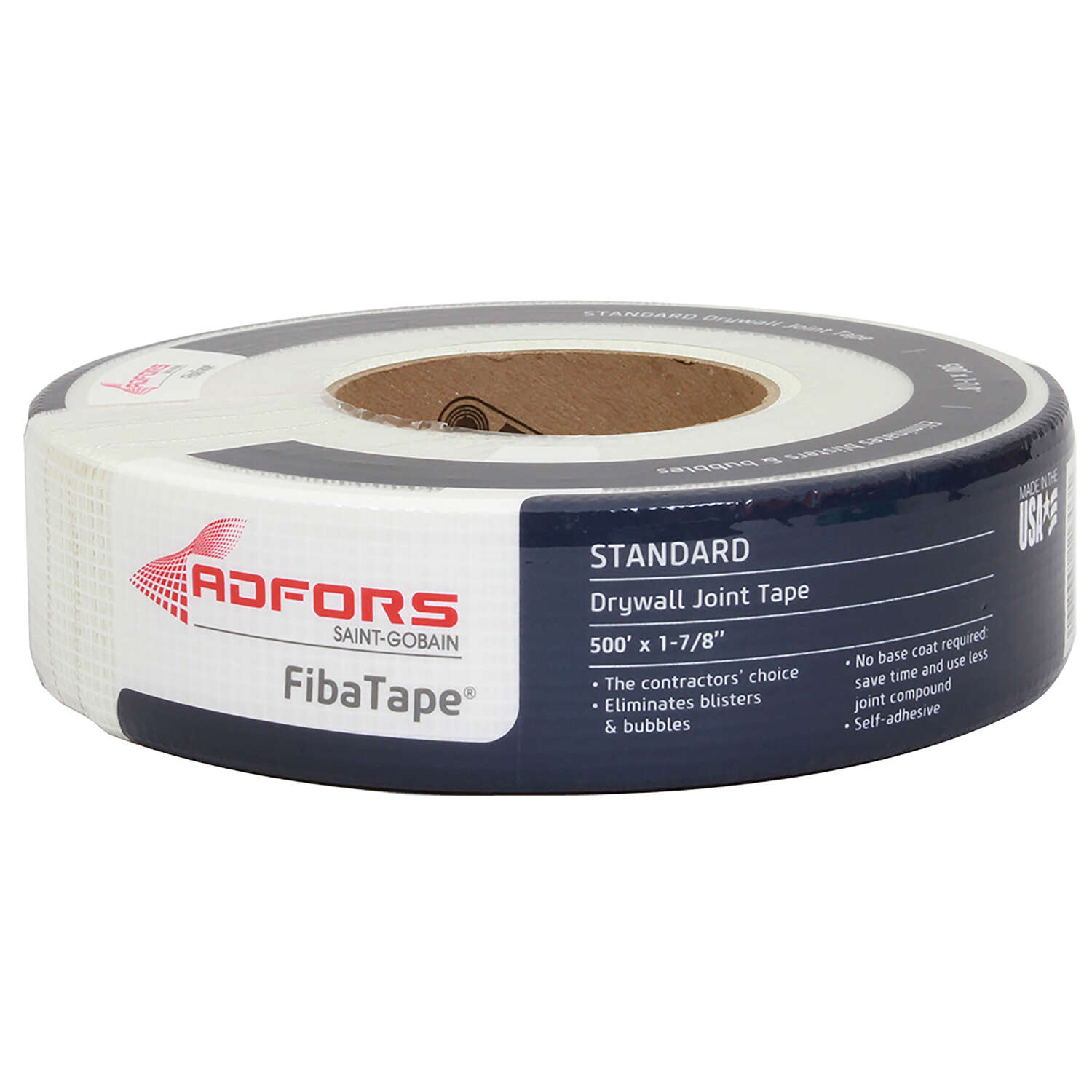ADFORS  FibaTape  500 ft. L x 1-7/8 in. W Fiberglass Mesh  White  Self Adhesive Drywall Tape