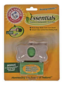 Arm & Hammer  Plastic  Dispenser with Biodegradable Waste Bags  30 pk