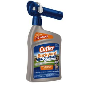 Cutter  Backyard Bug Control  Liquid Concentrate  Insect Killer  32 oz.