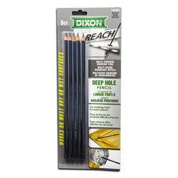 Dixon  Reach  Wood  Pencil  5 pk
