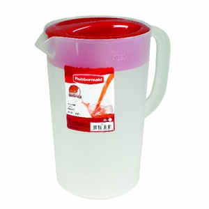Rubbermaid  128 oz. Clear  Mixing Pitcher  Plastic
