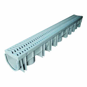 Fernco  Storm Drain Plus  4.53 in. Rectangle  Channel Grate