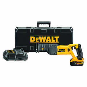 DeWalt  MAX  1-1/8 in. Cordless  Kit 20 volts 3000 spm Reciprocating Saw Kit