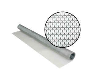 Phifer Wire  36 in. W x 7 ft. L Aluminum  Screen Cloth