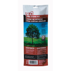 Bond  10 in. H Black  Plastic  Tree Stakes
