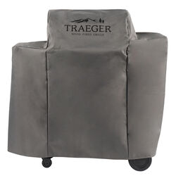 Traeger  Gray  Grill Cover  For Ironwood 650-TFB65BLE 46 in. W x 43.25 in. H