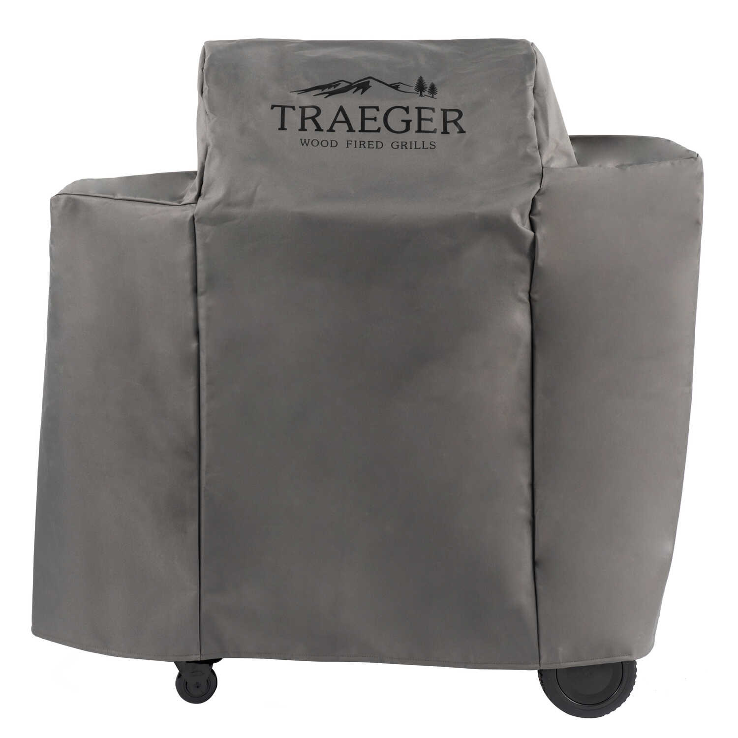 Traeger  Gray  Grill Cover  46 in. W x 24.5 in. D x 43.25 in. H For Ironwood 650-TFB65BLE