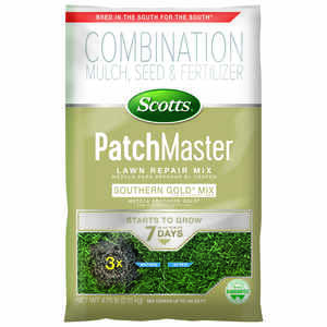 Scotts  PatchMaster Southern Gold  Tall Fescue  Lawn Repair Seed Mix  4.75 lb.