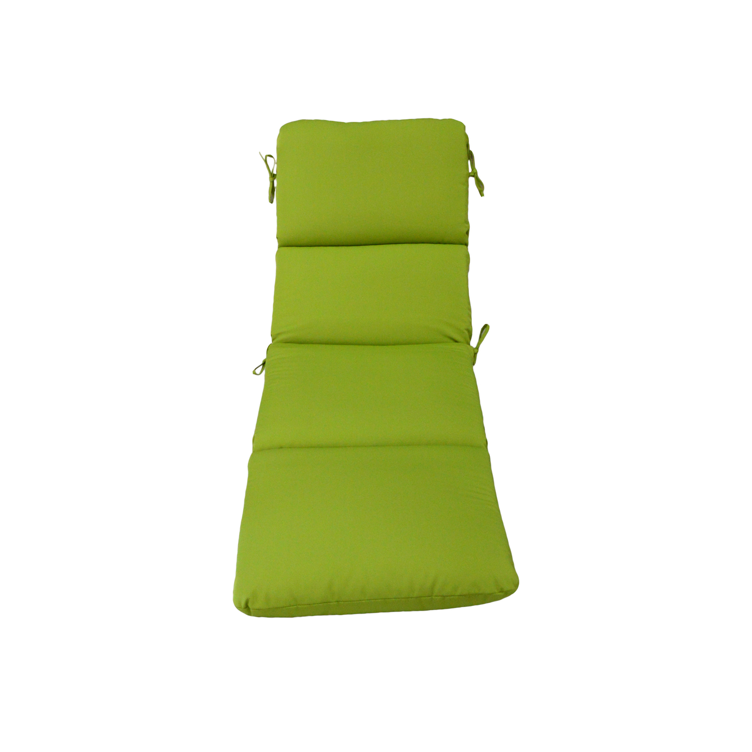 Casual Cushion  Gray/Lime  Polyester  Seating Cushion  23 in. 3.5 in. 74 in.