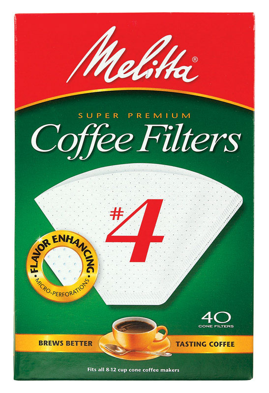 Melitta  8 - 12 cups cups Cone  Coffee Filter  40 count