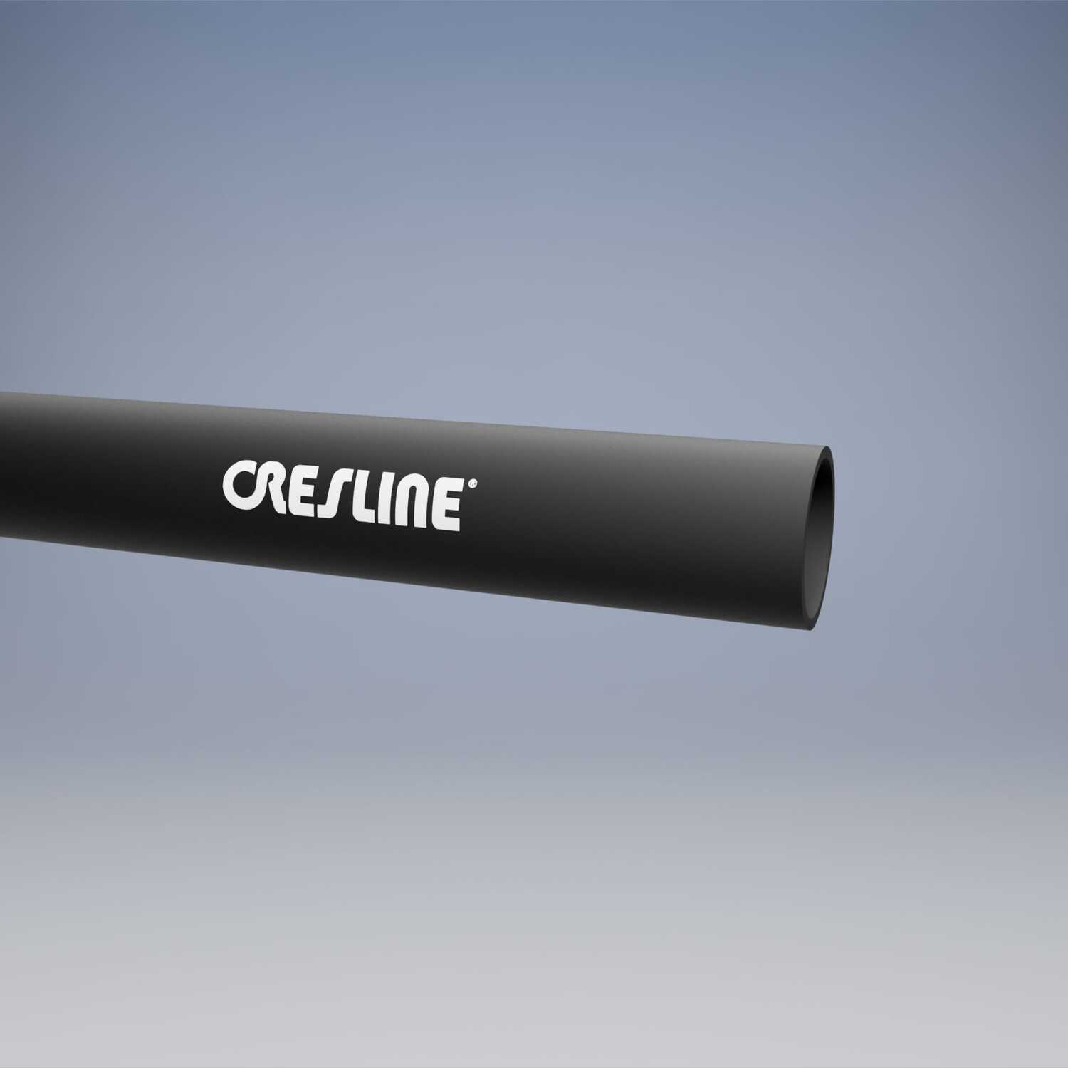 Cresline  3 in. Dia. x 20 ft. L ABS  Pipe