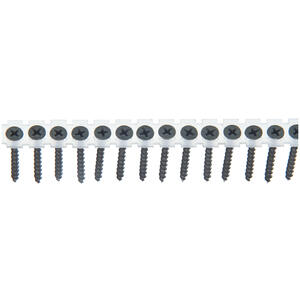 Senco  DuraSpin  No. 6   x 1-5/8 in. L Phillips  Gray Phosphate  Drywall Screws  1000 lb. 1000 pk