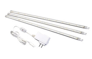 Amerelle  12 in. L White  Plug-In  LED  Strip Light