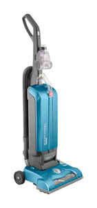 Hoover  Windtunnel  Bagged  Corded  Upright Vacuum  12 amps Blue  Standard