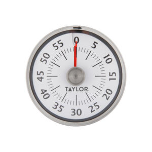 Taylor  Mechanical  Silicone/Stainless Steel  Indicator Timer