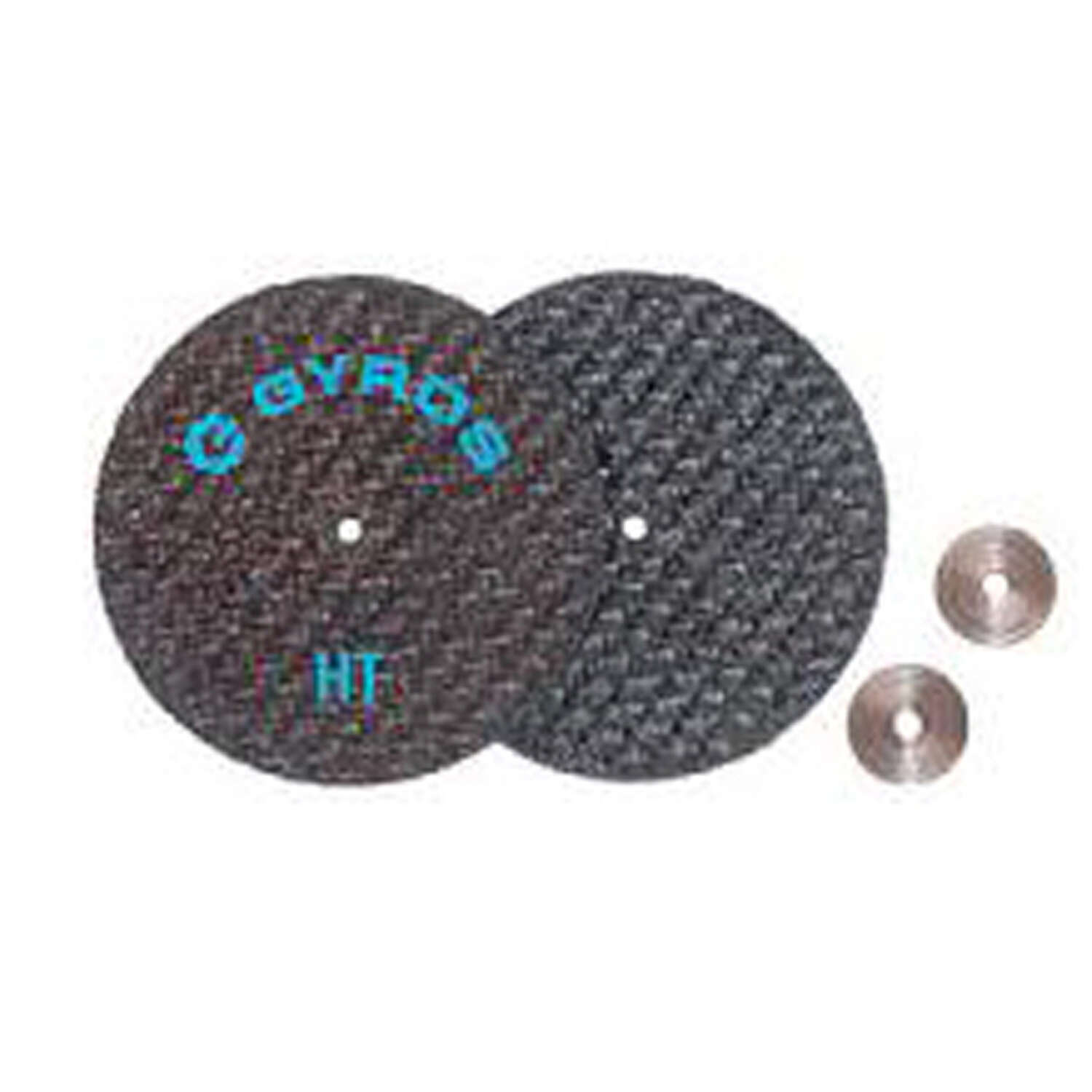 Gyros Tools  Fiber Disk Low Tensile  1-1/2 in. Fiberglass  Cutting Disc  1/32 in.  x 1/8 in.   2 pk