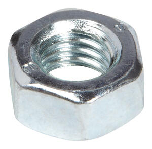 Hillman  M8-1.25 mm M8   Zinc-Plated  Metric  Hex Nut  100 pk Steel