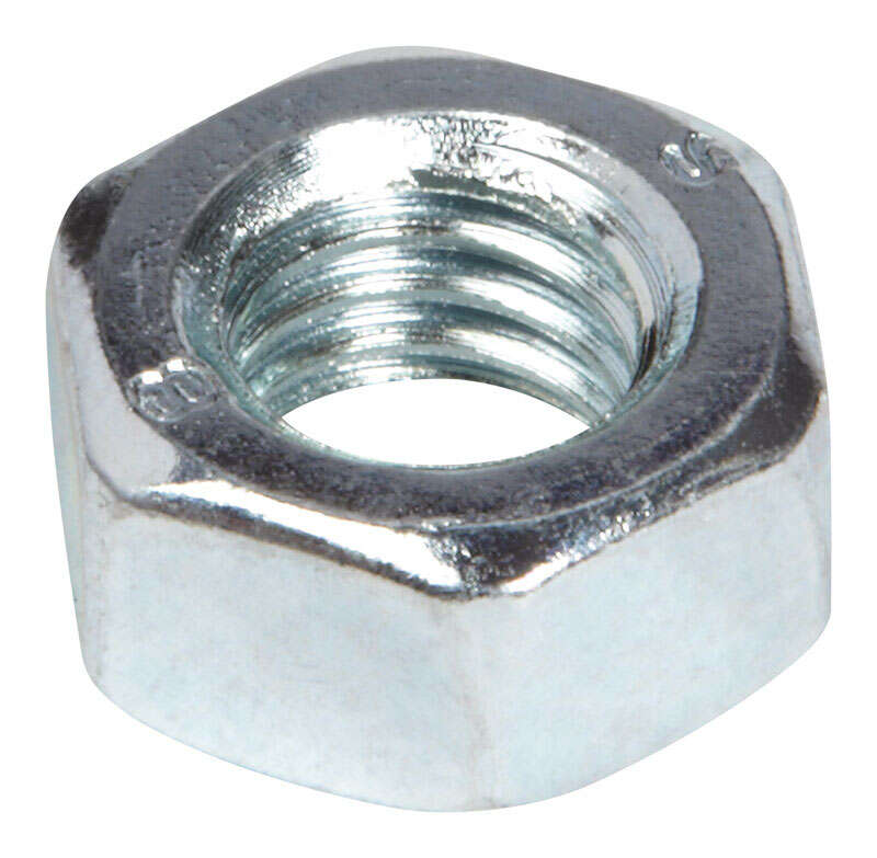 HILLMAN  M8   Zinc-Plated  Steel  Metric  Hex Nut  100 pk