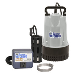 Basement Watchdog  1/2 hp 4,400 gph Aluminum  Dual Reed  AC  Submersible Sump Pump