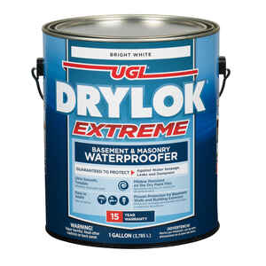 Drylok  Low Gloss  White  Latex  Waterproof Sealer  1 gal.